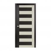 Дверне полотно Korfad PORTO COMBI COLORE РС-03 900х2000 мм Венге