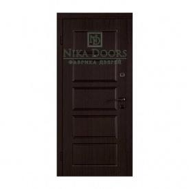 Броньовані двері Сходи-880х2040 мм венге