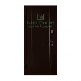 Броньовані двері Стайл 880х2040 мм венге