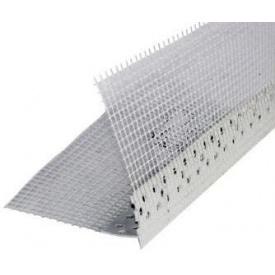 Профіль ПВХ THERMOMASTER PVC-B з сіткою для зовнішніх кутів 2,5 м