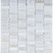 Мозаика мрамор стекло VIVACER HL85, 30х30 cм