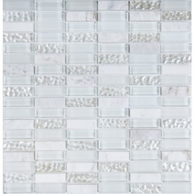 Мозаїка мармур скло VIVACER HL85, 30х30 см