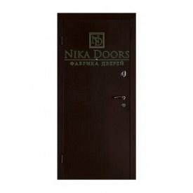 Броньовані двері Гладь 880х2040 мм венге