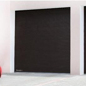 Гаражні секційні ворота DoorHan RSD01 з пружинами розтягування 2500х2390 мм