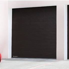 Гаражні секційні ворота DoorHan RSD01 з пружинами розтягування 3350х2115 мм