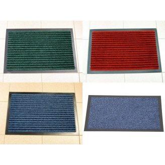 Придверный грязезащитный цветной коврик Entree 40х60 см с окантовкой