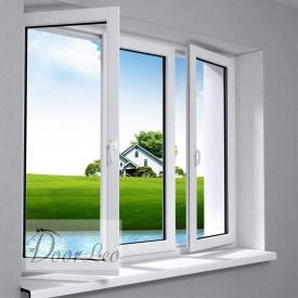 Металопластикове вікно Європейський профіль Steko R600 Eko 5-х камерне