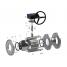 Кран кульовий BREEZE Silver 11с341п DN 150/150 мм