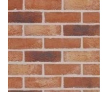 Кирпич ручной формовки Terca Bijou 215х100х65 мм красный пестрый