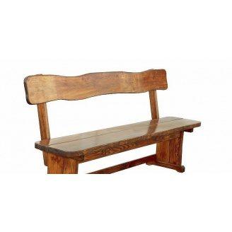 Деревянная скамейка для общественных заведений