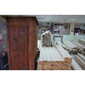 Душевая деревянная кабинка из сосны 2400х1240 мм