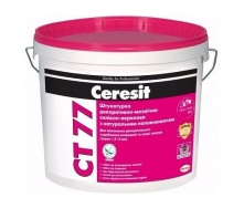 Штукатурка декоративно-мозаичная полимерная Ceresit CT 77 1,4-2,0 мм 14 кг SIERRA 4