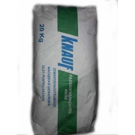 Шпаклівка цементна Knauf Фасаденшпахтель 20 кг біла
