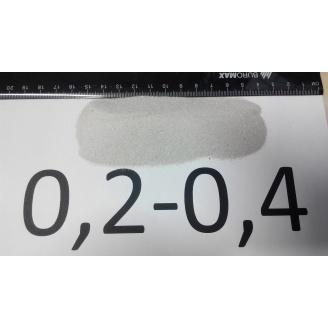 Песок кварцевый 0,2-0,4 мм