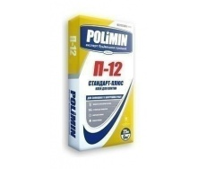 Клеевая смесь Polimin Стандарт-плюс П-12 5 кг