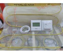 Нагревательный мат 1.4 м.кв Fenix In-Therm (Чехия) с терморегулятором