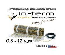 Нагревательный мат In-Term под плитку 200 Вт/м