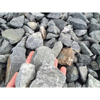 Щебень гранитный насыпом 40-70 мм