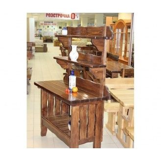 Буфет деревянный 1700x1250x560 мм