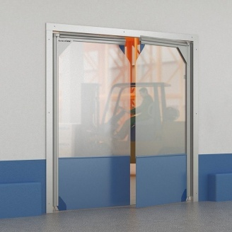 Розпашні ворота DoorHan плівкові морозостійкі