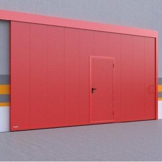 Откатные ворота DoorHan противопожарные 80 мм