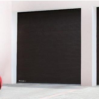 Гаражные секционные ворота DoorHan RSD01 с пружинами растяжения 2500х2390 мм