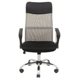 Офисное кресло Ультра сетка Richman серо-черное 1180x500 мм