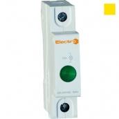 Светосигнальный неоновий індикатор ElectrO AD 22M 230 В жовтий на DIN-рейку