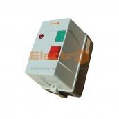 Пускатель электромагнитный ElectrO ПМЛк-1 корпус IP54 18 А 220/380 В с индикатором и реле