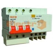 Дифференциальный автоматический выключатель ElectrO АД2-63 3Р+N 25 А 100 мА 4,5 кА
