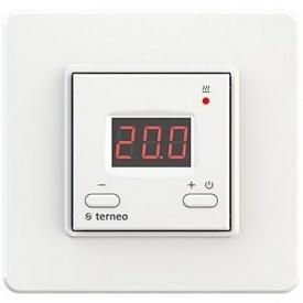 Терморегулятор terneo vt для инфракрасных панелей и обогревателей 60x60x25 мм