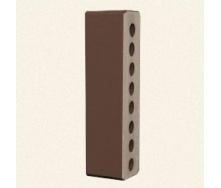 Лицевой кирпич Белоцерковский половинка М250 250x60x65 мм коричневый