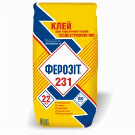 Клей Ферозит 231 22 кг (4533)