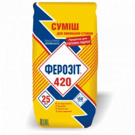 Стяжка Ферозит 420 25 кг (4884)
