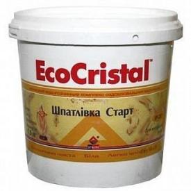 Шпаклевка Eco Cristal старт готовая 15 кг