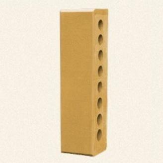 Лицевой кирпич Белоцерковский половинка М250 250x60x65 мм желтый