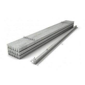 Столбик ограждения железобетонный СЖБ 20-1 2x0,1x0,1 м