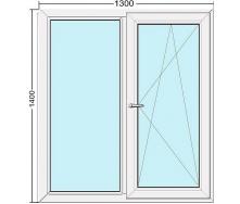 Окно WDS Стандарт 1300x1400 мм
