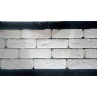 Гипсовый кирпич БОСТОН 00 5,5x19,5x0,9 см белый