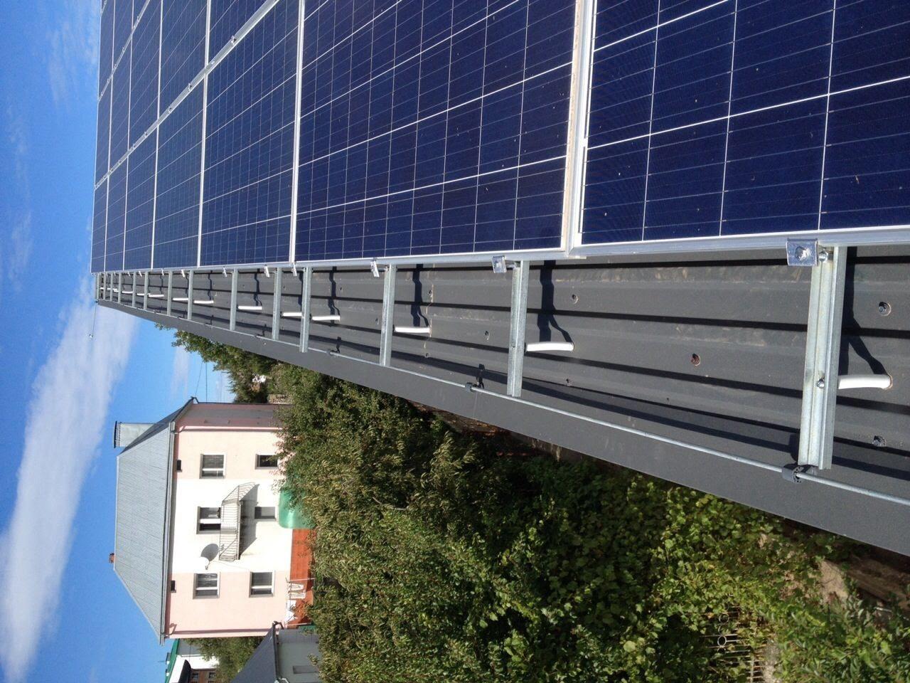 Блискавкозахист соняшних панелей.