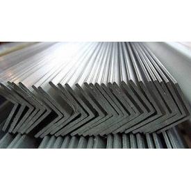 Кутик рівнополичний сталевий 63х63х5 мм 6 м