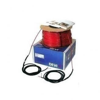 Нагревательный кабель одножильный DEVI DEVIbasic ™ 20S 2640 Вт