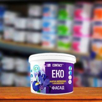 Краска акриловая фасадная EKO CONTACT атмосферостойкая 1,4 кг
