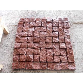 Брусчатка колотая Лезники 5х5х5 см