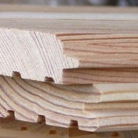 Фальш-брус сосновый 135x25 мм