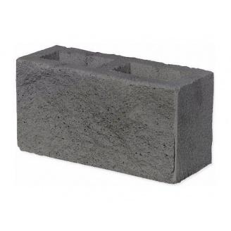 Колотый блок ЕКО 350х190х140 мм серый