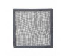 Сетка наружной вентиляционной решетки VILPE 240х240 мм серая