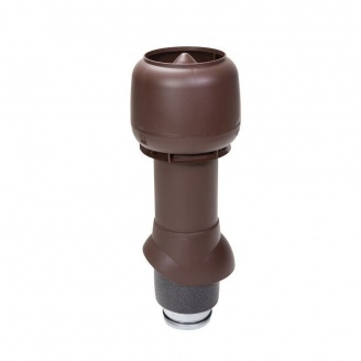 Вентиляционный выход VILPE 125/ИЗ/500 125х500 мм шоколадный