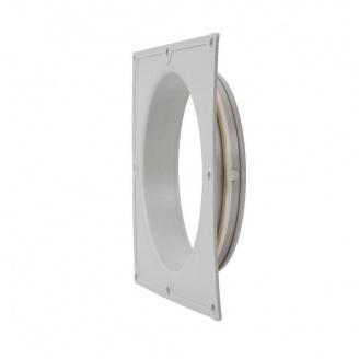 Фланец вентиляционной решетки VILPE 160 мм светло-серый