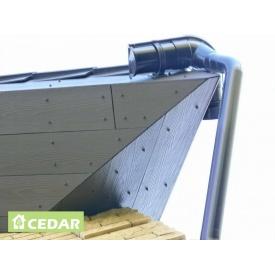 Підшивка з фіброцементної плити Cedar